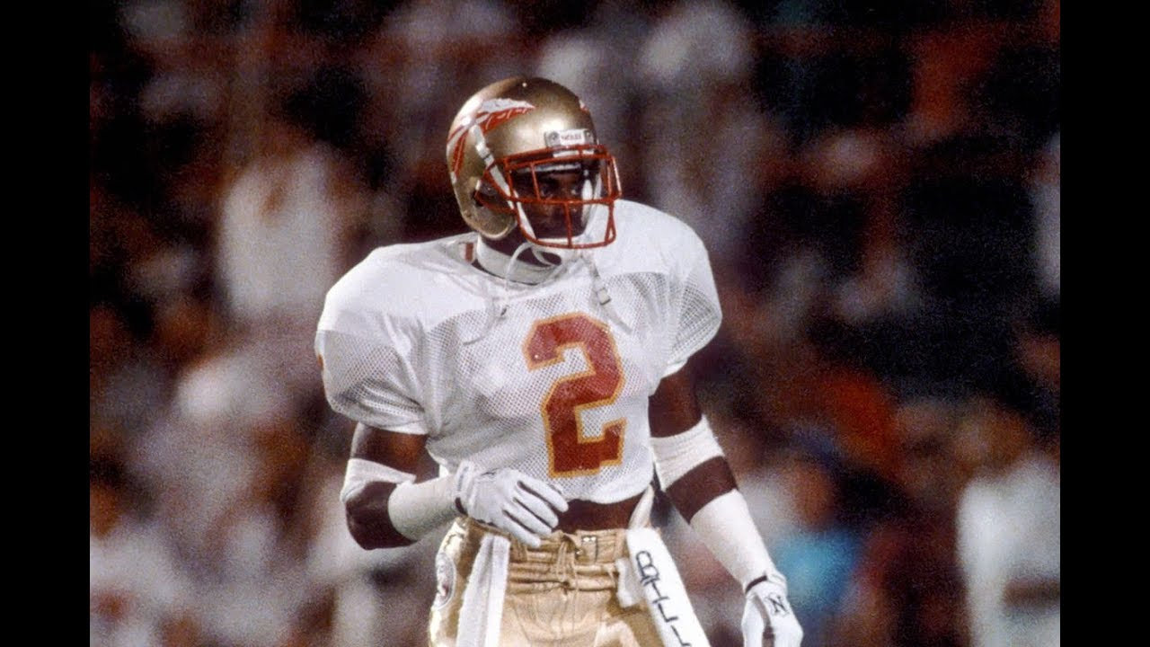 reputable site f9681 2827c The Most Exciting Player in Florida State History || Deion Sanders Florida  State Highlights