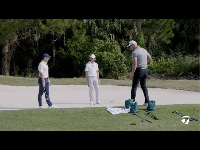 Rory McIlroy & Tommy Fleetwood's Bunker Play & Short Game | TaylorMade Golf