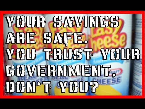 EU and Canada to CONFISCATE Savings When System Collapses!