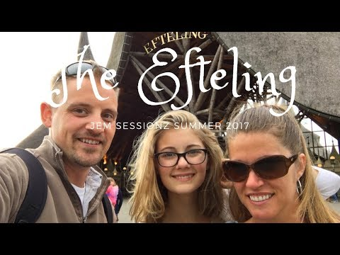 Efteling Theme Park | Europe Summer 2017 | 4K