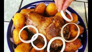 вкуснейший Казан Кебаб из шеи барана ! Невозможно Устоять! Очень вкусное блюдо из шеи