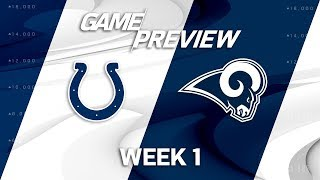 Indianapolis Colts vs. Los Angeles Rams | Week 1 Game Preview | NFL