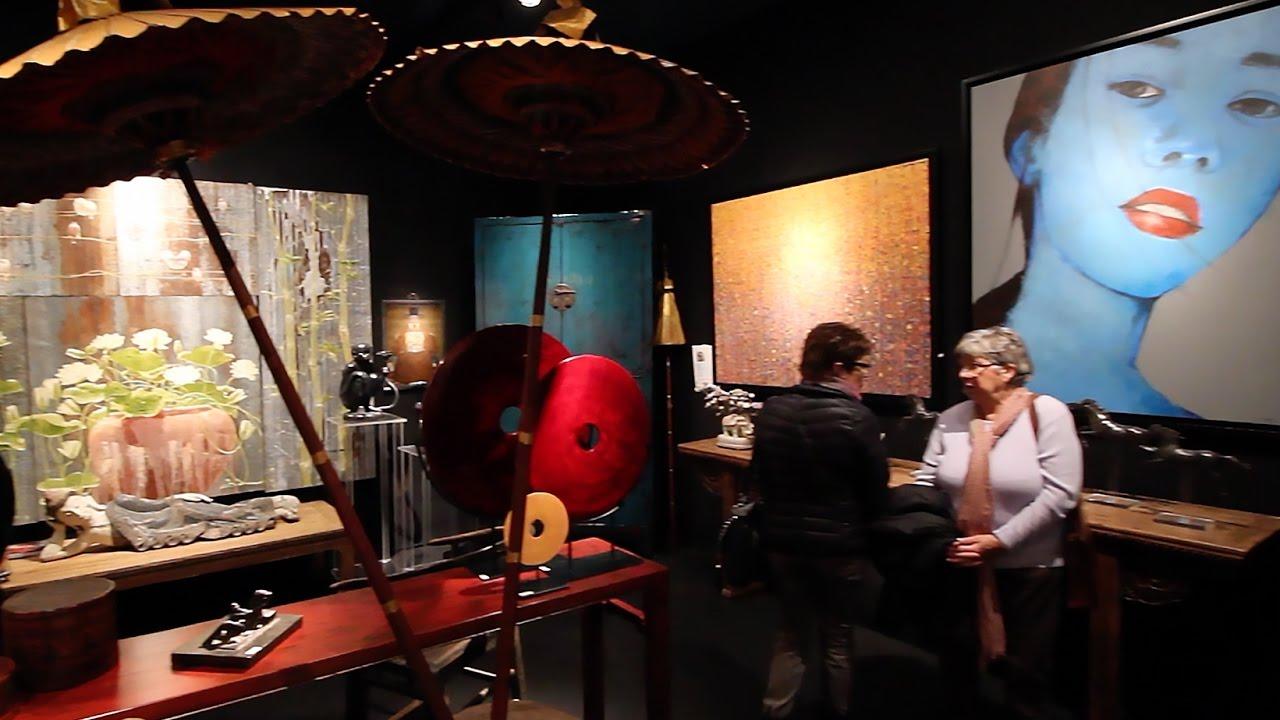 43 me salon des antiquaires et de l 39 art contemporain bordeaux youtube - Salon des antiquaires bordeaux ...