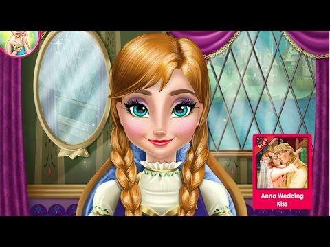 Anna Frozen Игры—Анна из Холодное сердце Макияж—Онлайн Видео Игры Для Детей Мультфильм 2015