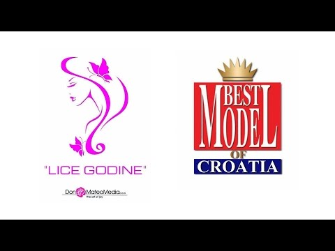 LICE GODINE HRVATSKE & THE BEST MODEL OF CROATIA 2016. (Official video)