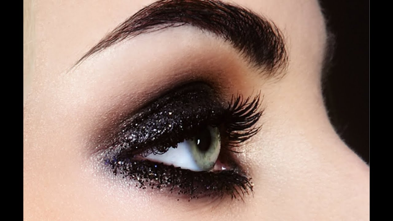 Maquillaje de noche ahumado para ojos youtube for The look at home