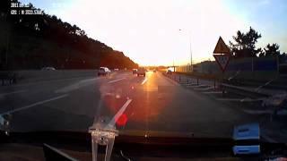 자동차 블랙박스 siv-h7 역광주행 테스트