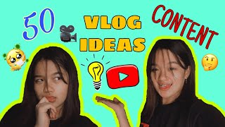 VLOG CONTENT IDEAS THIS QUARANTINE (Bahay Edition) | CHALLENGE | VLOG#26