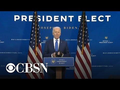 Biden introduces key members of economic team