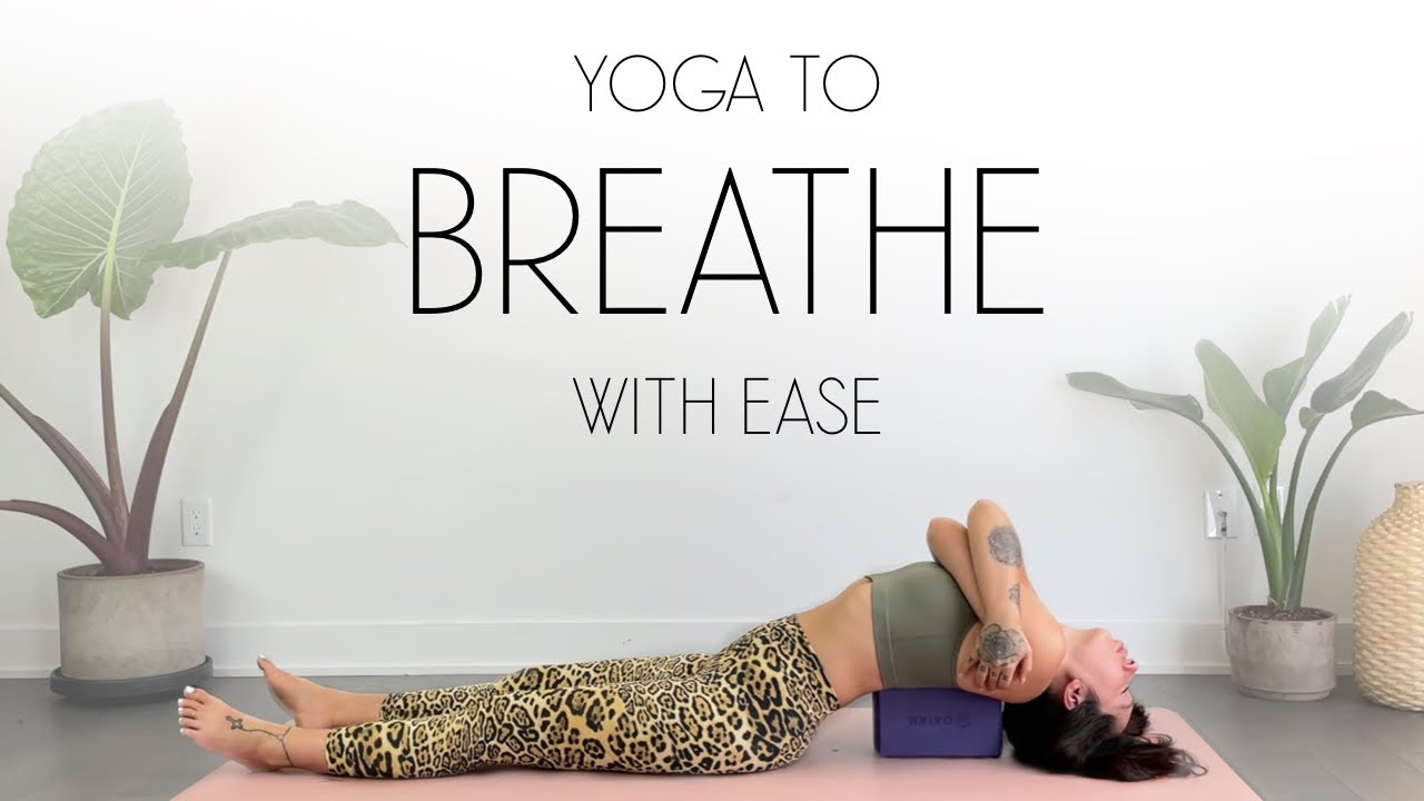 Restorative Yoga for Anxiety & Tension Within The Chest