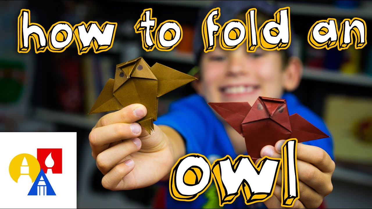 how to fold an origami owl youtube