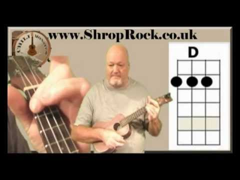 How To Play Really Easy Ukulele (3) Bad Moon Rising by Chili Monster