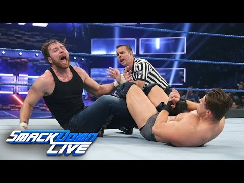 Dean Ambrose vs. The Miz - Intercontinental Title Match: SmackDown LIVE, Dec. 6, 2016