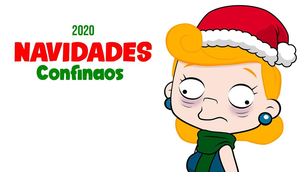NAVIDADES CONFINAOS 💊 CANCIÓN 💊 NIÑA REPELENTE 2020