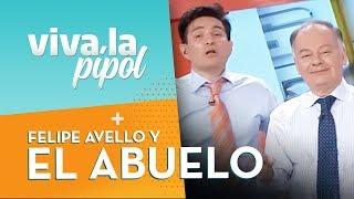 ¡EL ABUELO! Felipe Avello e Ítalo Passalacqua en SQPipol - Viva La Pipol