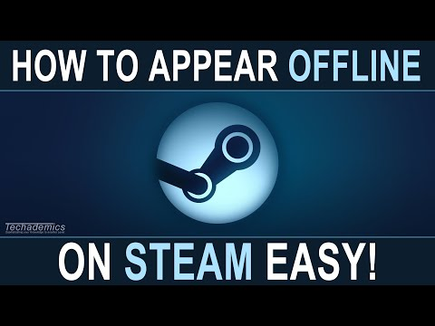 How To Appear Offline On Steam - EASY
