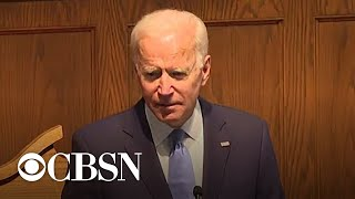Biden speaks about racism and legacy of slavery at Birmingham church