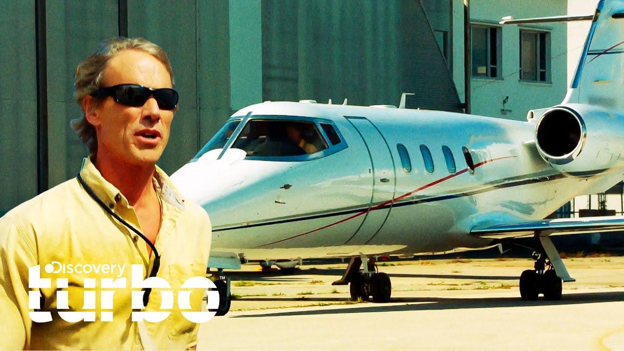 Mike rescata Jet de 1 millón de dólares que presenta falla en vuelo | Misión Avión | Discovery Turbo
