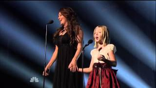 Jackie Evancho   Sarah Brightman Time to Say Goodbye on America