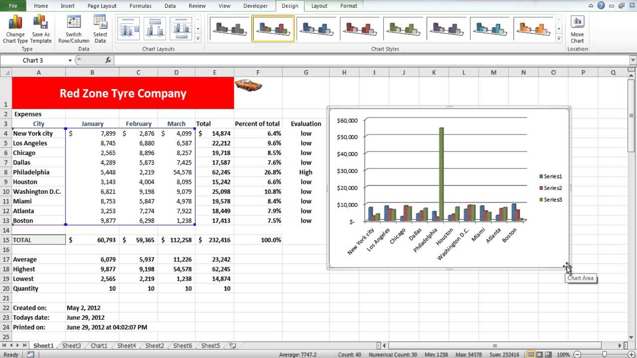 How to adjust charts in excel youtube how to adjust charts in excel ccuart Gallery
