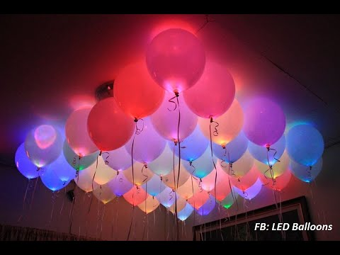 700 pieces Flying LED Balloons