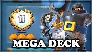 Legendary Challenge Using Goblin Hut Deck | Clash Royale 🍊