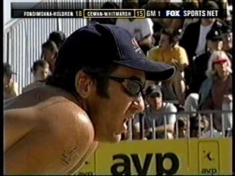 AVP Volleyball 2002 Huntington Beach Final