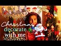 Decorate with Me for Christmas, Gold & Silver Glam DIY Christmas Tree / Happy New Year