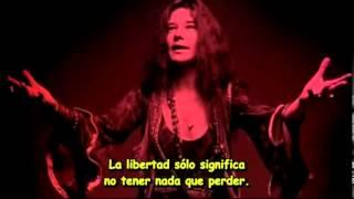 janis joplin me and bobby mcgee subtitulada al español