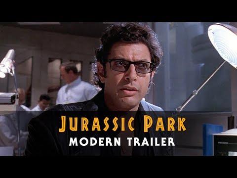 Jurassic Park - Modern Trailer | 25th Anniversary