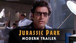 Jurassic Park - Modern Trailer   25th Anniversary