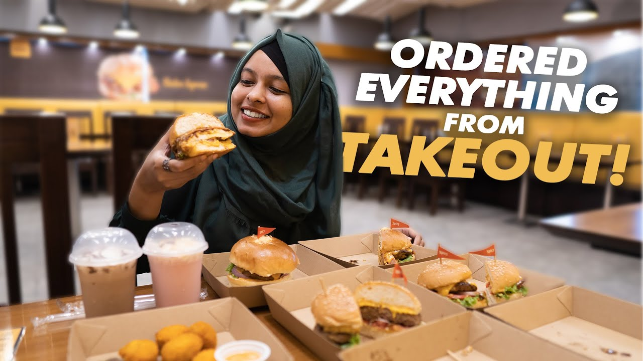 Download ORDERED EVERY BURGER AT TAKEOUT! (Almost!)