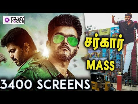 Thalapathy  Vijay MASS : Sarkar Collects 50 Crore on First Day Business ? | Vijay's Thalapathy 62