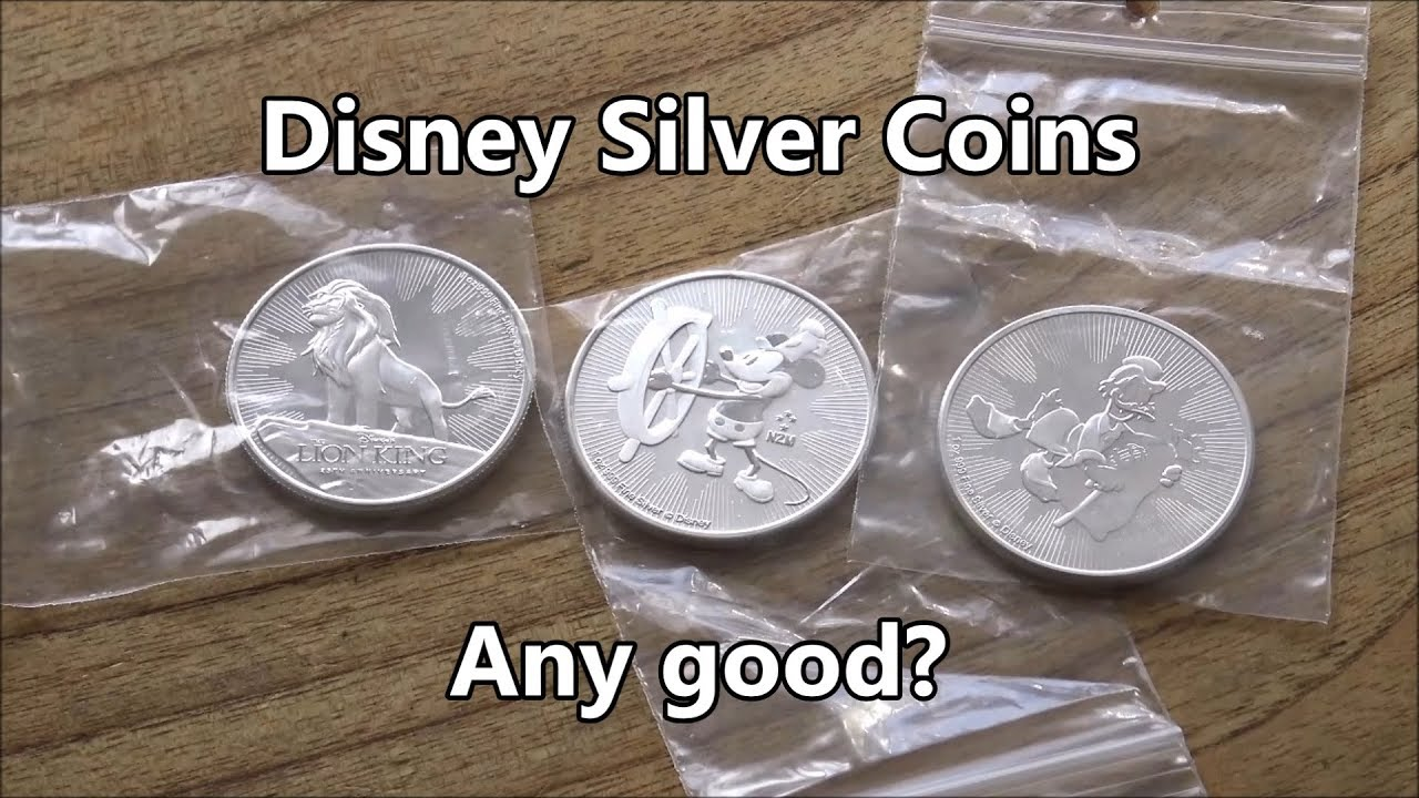 Are The Disney Themed Silver Coins