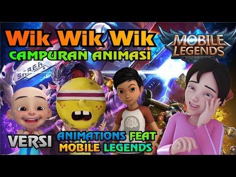 Parodi Wik Wik Wik Lagu Thailand - Mobile Legends Versi Upin Ipin