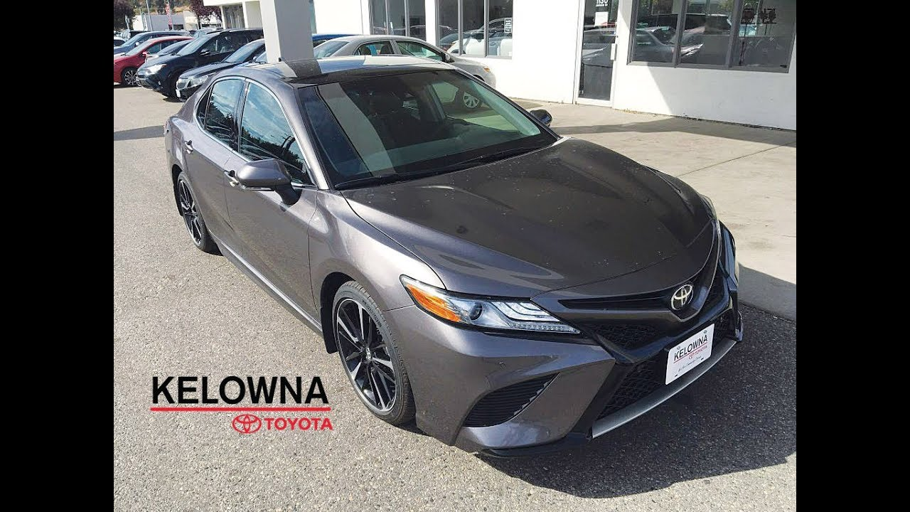 2018 Toyota Camry Xse Pre Dawn Grey Mica Youtube