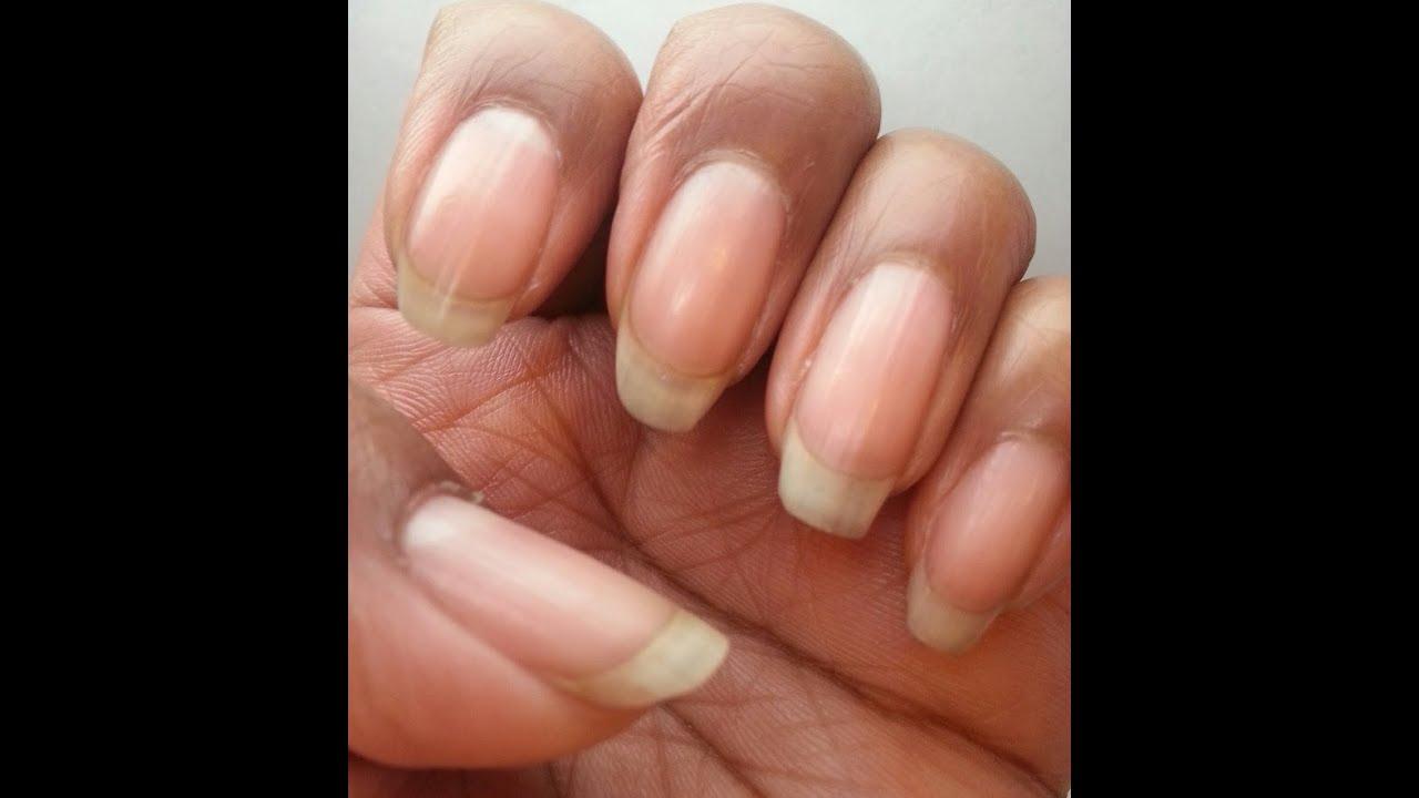 NO More Splitting Nails! - YouTube