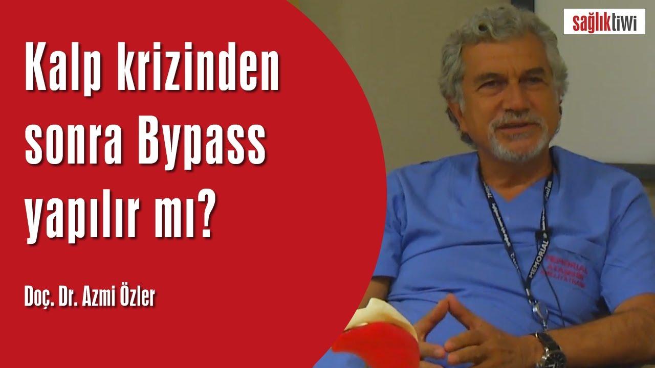Kalp krizinden sonra Bypass yapılır mı?  Doç. Dr. Azmi Özler SaglikTiwi