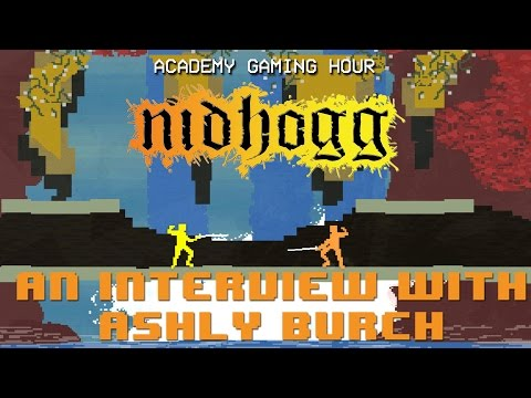 Academy Gaming Hour w/ Ashly Burch (Nidhogg)