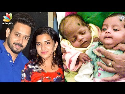 Actor Bharath & his wife Blessed with Twins   Hot Tamil Cinema News