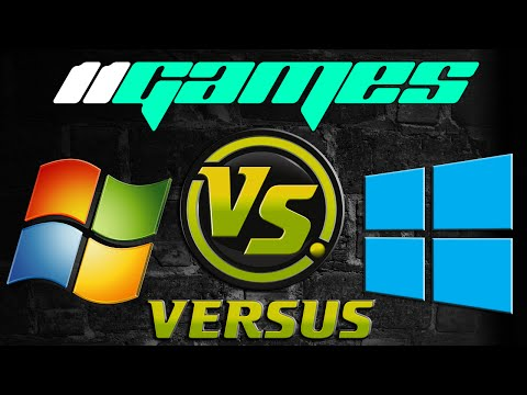 Windows 7 vs Windows 10 | Gaming Performance | in 11 Games |