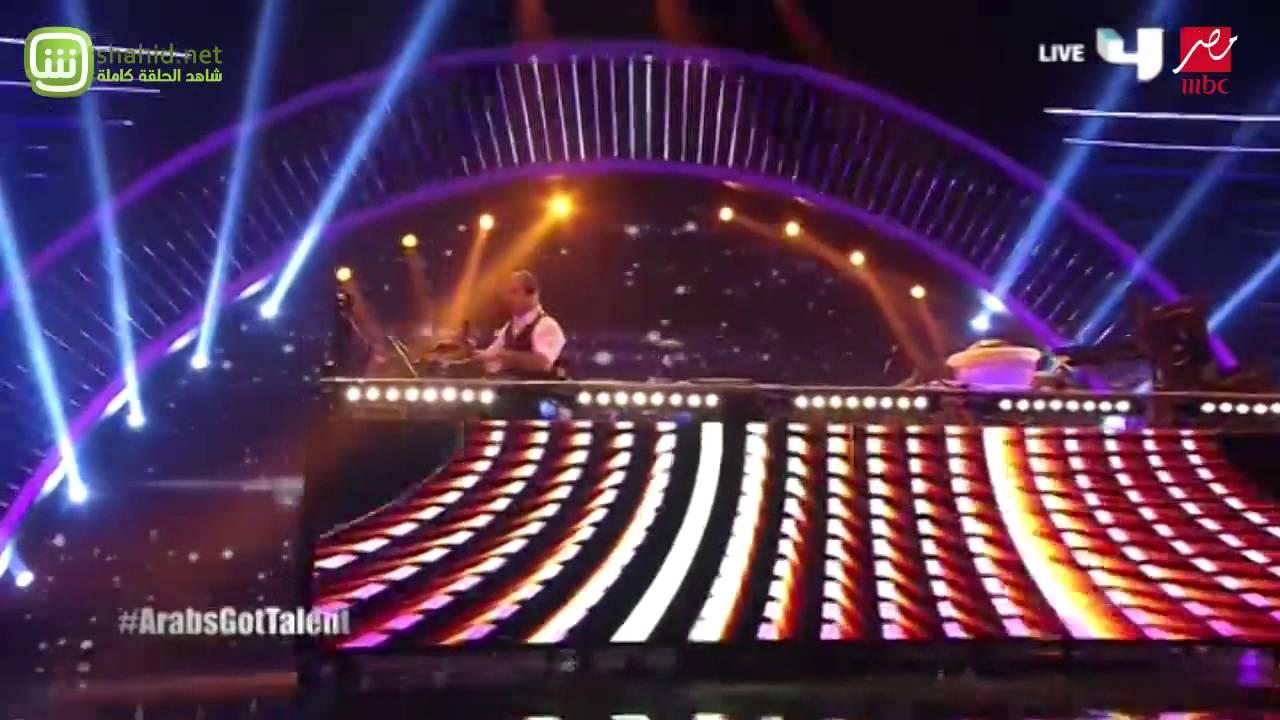 Arabs Got Talent -مصطفى تمساح- عرض النصف نهائيات