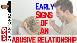 Signs of an Abusive Relationship - 8 Early Warning Signs of an Abusive Partner - Domestic Violence
