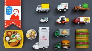 How to order food for kids with tomica トミカ?
