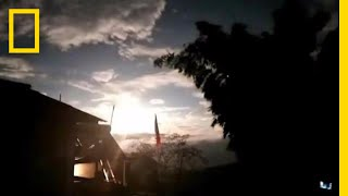 See a Fireball Meteor Explode In the Night Sky | National Geographic