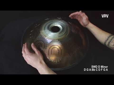 "Tongue Drum 18"" 9 notes - D Minor video"