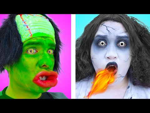 9 FUNNY ZOMBIE SUMMER HACKS | USEFUL HOW TO HACKS TIPS AND TRICKS
