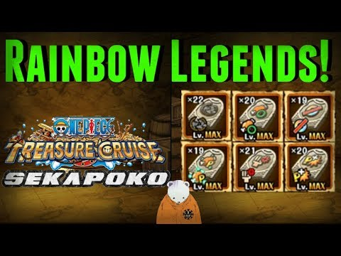 Limit Break Tablet Feed!   Rainbow Legends   One Piece Treasure Cruise