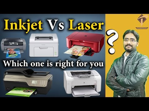 Inkjet Vs Laser printers? | Which one is right for you?