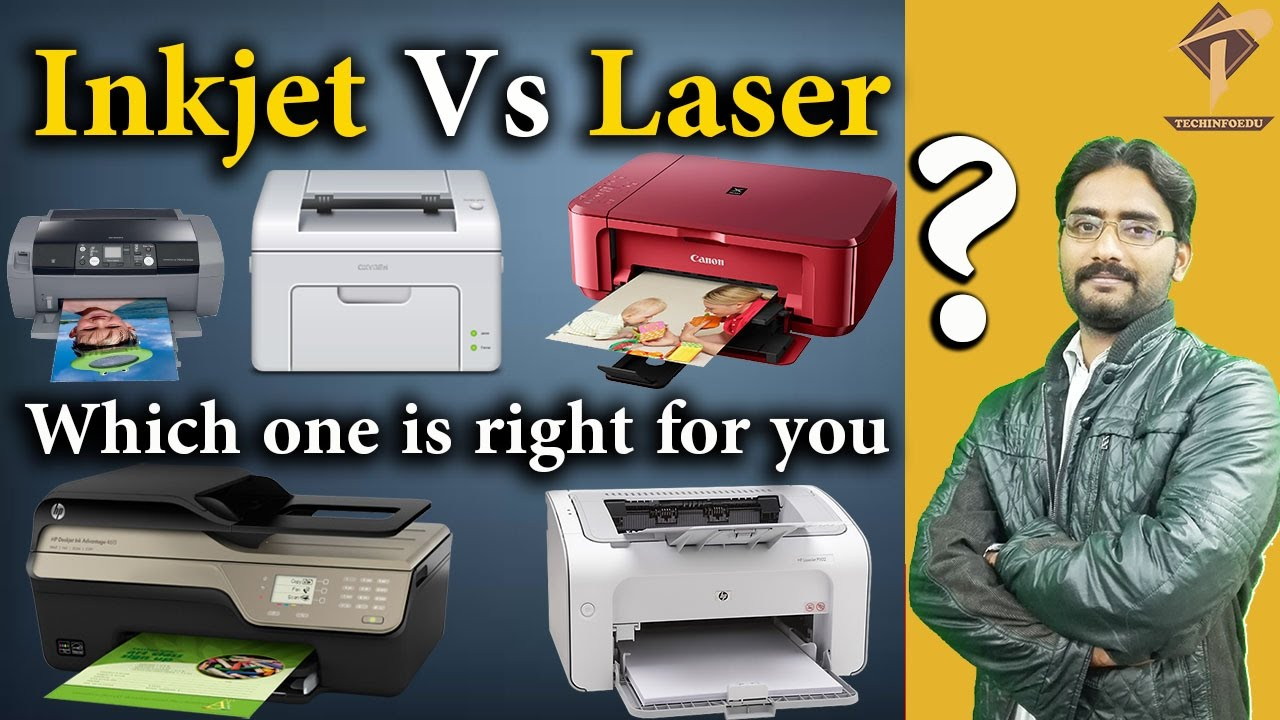 Color printing inkjet vs laser - Inkjet Vs Laser Printers Which One Is Right For You
